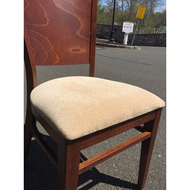 Realism Modern Beech Wood Dining Chair For Sale - Image 3 of 6