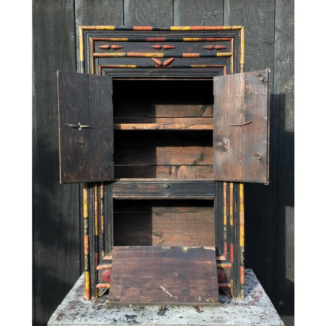 Antique Punjab Dowry Cupboard-Cabinet - Image 3 of 11