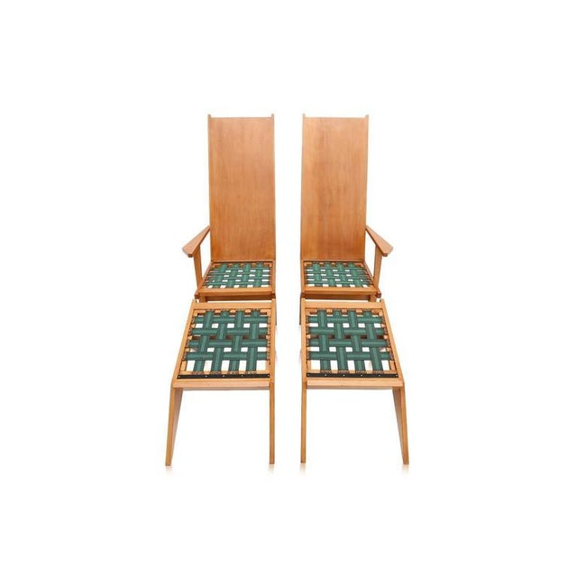 Mid-Century Modern 1970s Swimming Pool Lounge Chairs - a Pair For Sale - Image 3 of 11