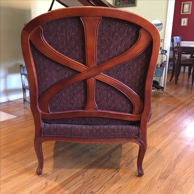 Ethan Allen French Country Bergère - Image 3 of 5