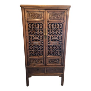 Late 19th Century Antique Chinese Cabinet For Sale