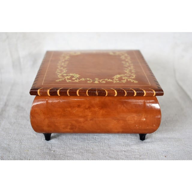 Italian Late 20th Century Italian Marquetry Box For Sale - Image 3 of 6