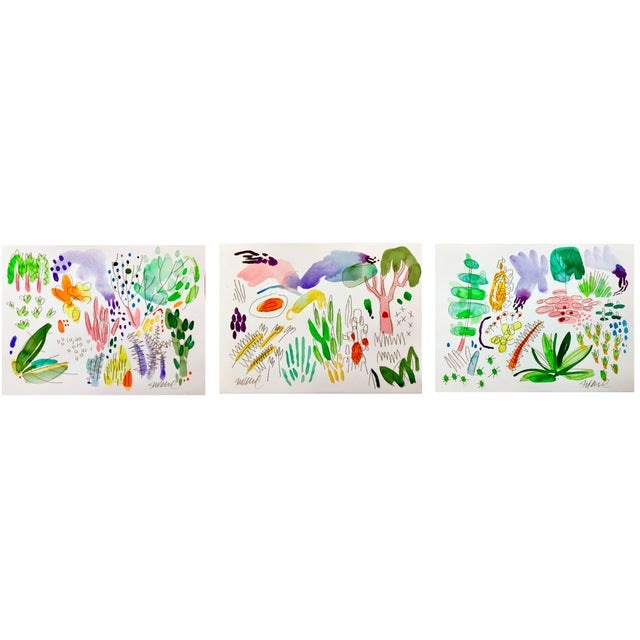 """This is a great way to add energy and color to your home! You get 12 8""""x10"""" Giclee prints, a standard frame size. They are..."""