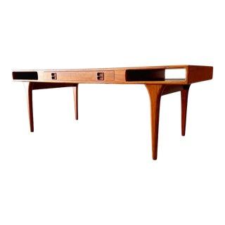 Johannes Andersen Danish Modern Coffee Table For Sale