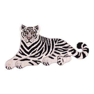 Contemporary Decorate Wild Bengal Baby Tiger Animal Design Area Rug For Sale