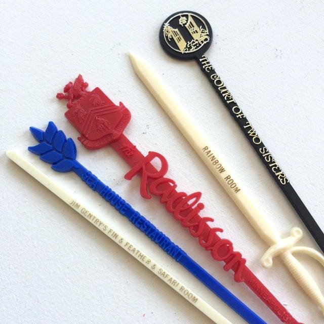Vintage Swizzle Sticks - Set of 10 - Image 4 of 4