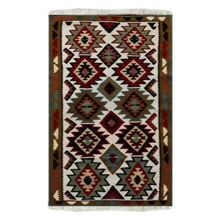 "Kilian Wool Persian Rug 3'3"" X 5'6"" For Sale"