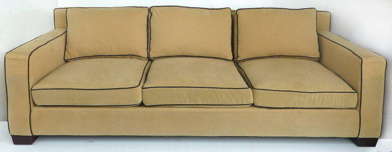Lovely Offered For Sale Is The Ralph Lauren Graham Sofa. With Its Classic Lines  And Upholstered