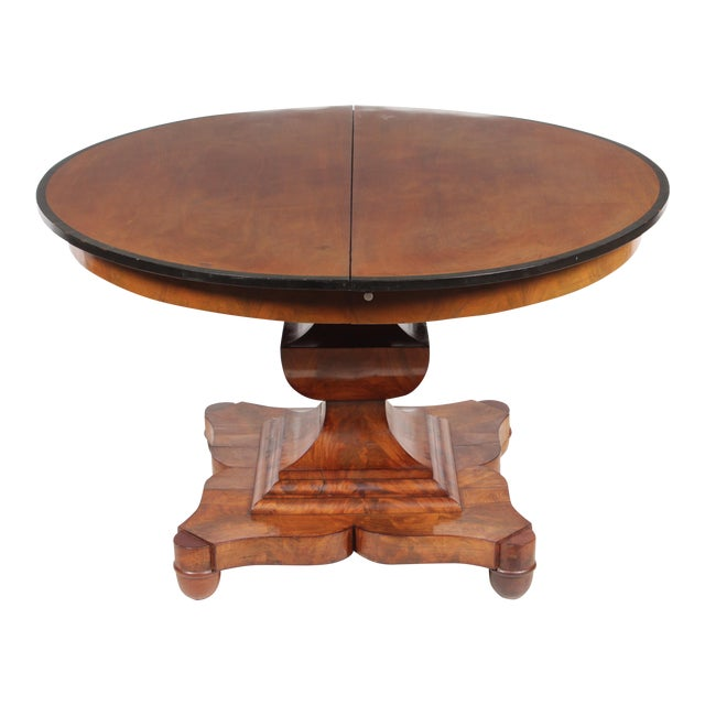 19th-C. English Empire-Sty Center Table - Image 1 of 10