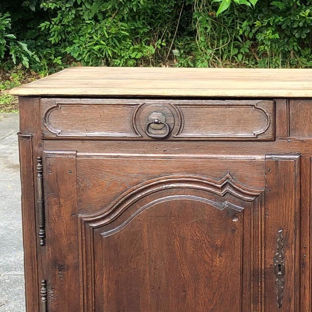 Brown Early 19th Century French Provincial Buffet For Sale - Image 8 of 13