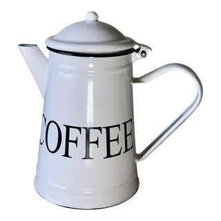 Emailul Enameled Coffee Pot