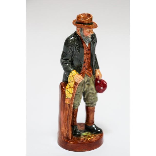 """Ceramic Royal Doulton """"The Gaffer"""" British Porcelain Figurine For Sale - Image 7 of 9"""