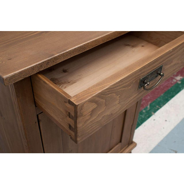Late 19th Century Late 19th Century Pine Cupboard / Washstand For Sale - Image 5 of 7