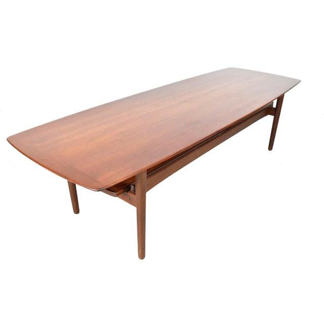 Bramin Møbler Teak Surfboard Coffee Table - Image 1 of 7