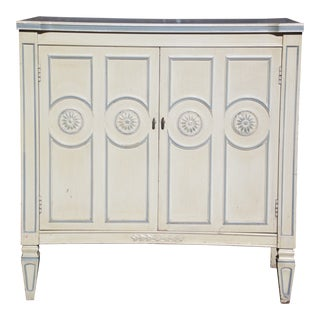 Vintage Thomasville Provincial French Country Chest End Table Cabinet Nightstand For Sale