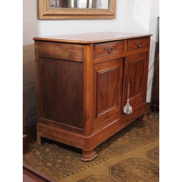 Antique French Fruitwood Buffet, Louis Philippe, circa 1840 - Image 8 of 9