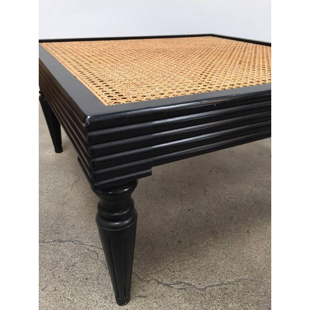 Anglo-Indian Ebonized Ottoman or Side Table For Sale - Image 9 of 13