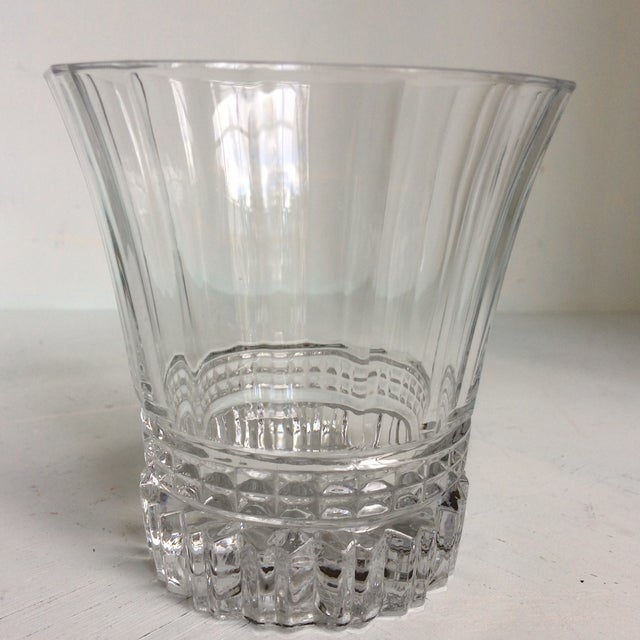 Traditional Cristal d'Arques-Durand Victoria Double Old Fashion Glasses - Set of 6 For Sale - Image 3 of 13