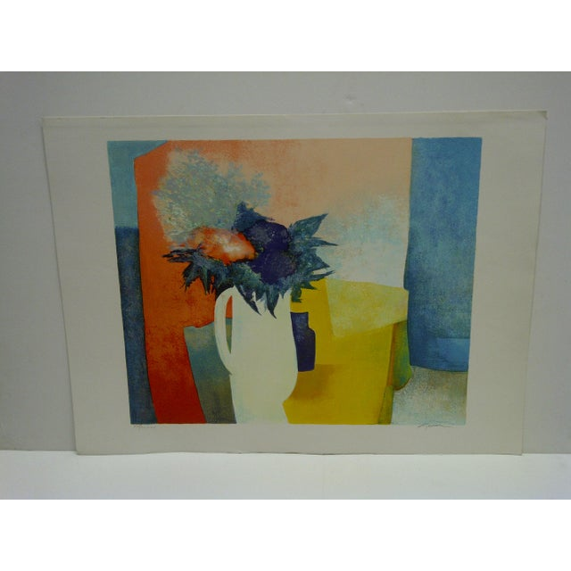 """This is a Limited Edition -- Numbered (XIV/CLXXV) And Signed Print -- Titled """"Spring"""" -- By Claude Gaveau"""