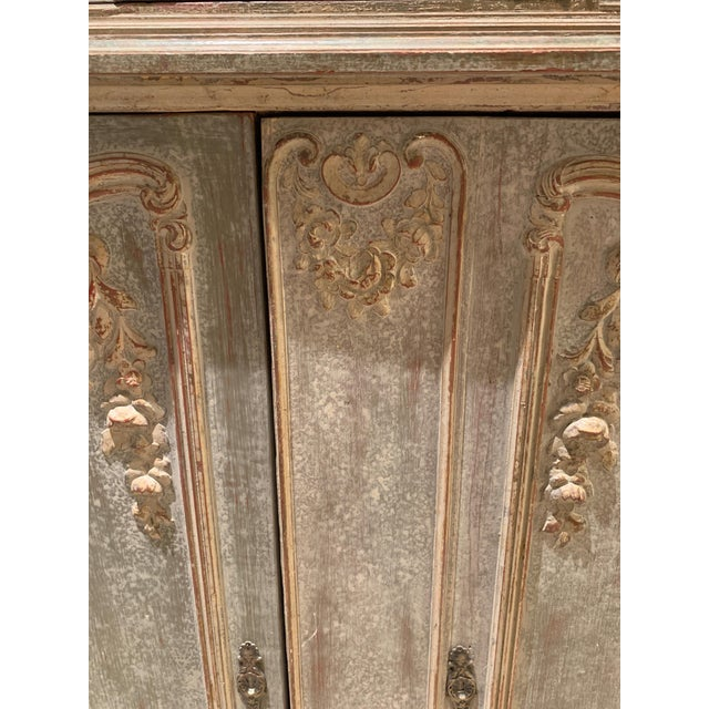 18th Century Antique French Cabinet For Sale In Los Angeles - Image 6 of 13