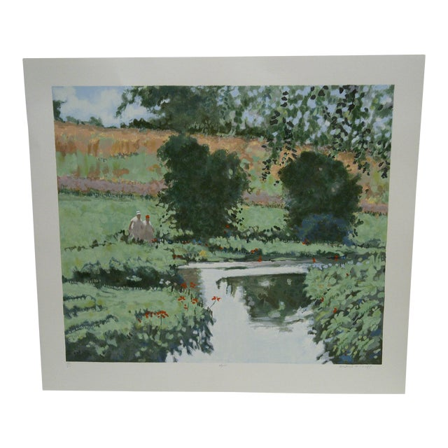 "Frederick McDuff ""April"" Limited Edition Print For Sale"