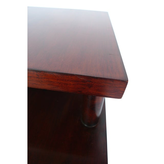 Red Robsjohn-Gibbings Tiered Side Table for Widdicomb For Sale - Image 8 of 10