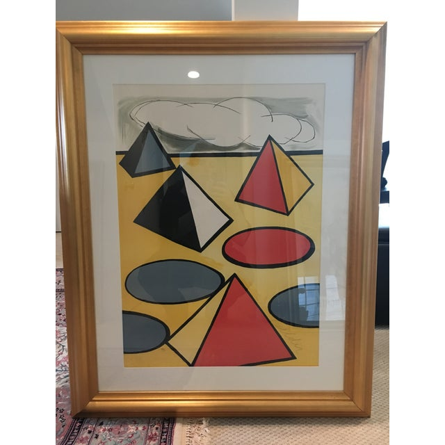 """Abstract Alexander Calder """"La Piege"""" (The Trap) Lithograph For Sale - Image 3 of 5"""