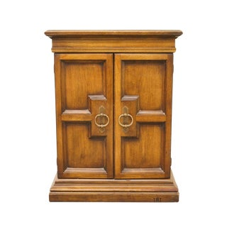 20th Century Italian Walnut Console Cabinet For Sale