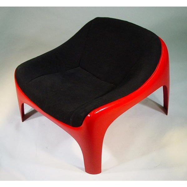 Mid-Century Modern Rare Sergio Mazza Lounge Chair for Artemide For Sale - Image 3 of 6