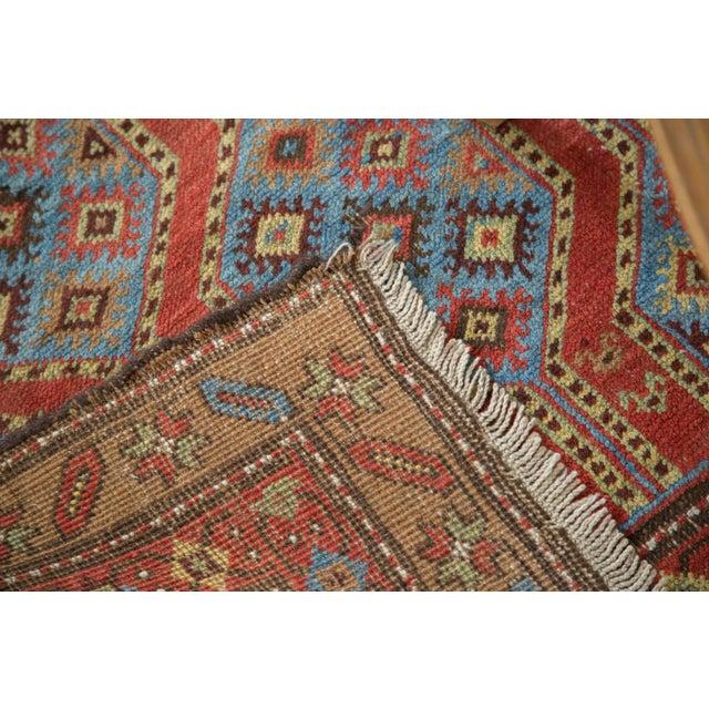 "Vintage Northwest Persian Square Rug - 3'9"" X 5'2"" - Image 6 of 7"