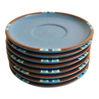 Vintage Dansk Mesa Sky Saucers - Set of 8 For Sale