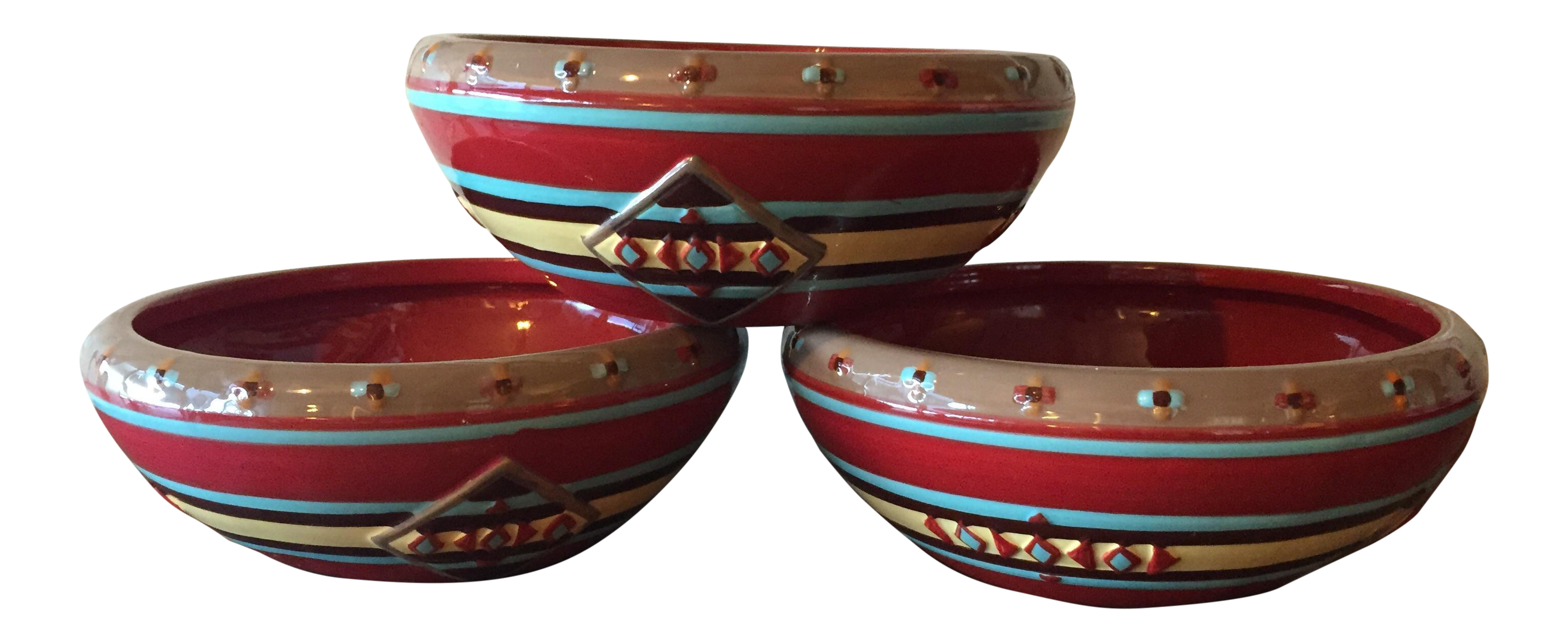 Pendleton Home Collection Cereal Bowls - Set of 3  sc 1 st  Chairish & Pendleton Home Collection Cereal Bowls - Set of 3 | Chairish