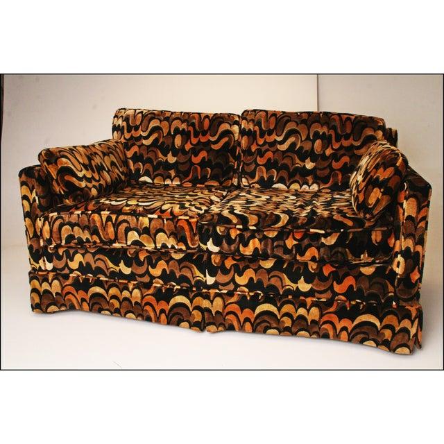 Mid-Centuryack Lenor Larsen Upholstered Loveseat - Image 2 of 11