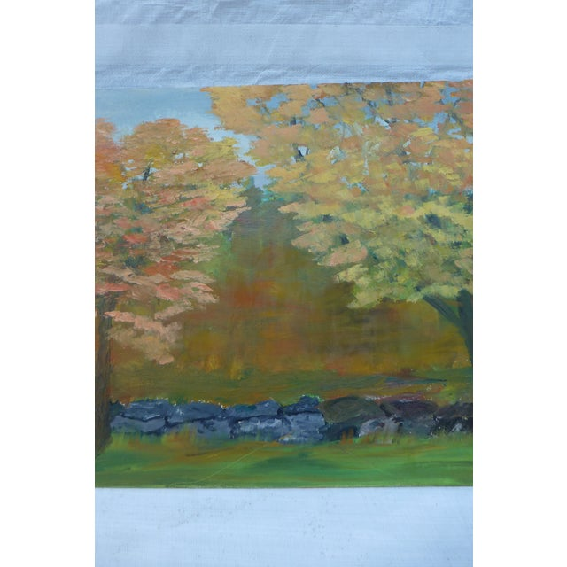 MCM Painting of New England Trees by H.L. Musgrave - Image 4 of 6