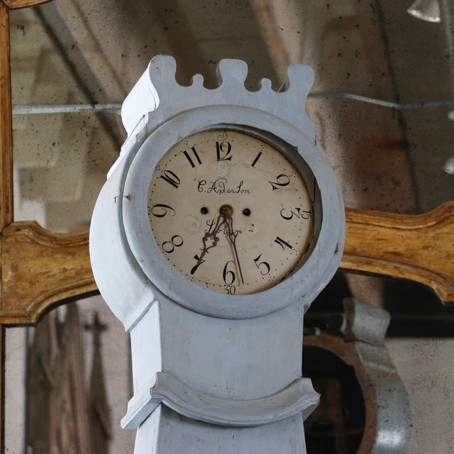 Superior 18th Century Painted Swedish Clock Desk | DECASO on brazilian clock, gaelic clock, serbian clock, gustavian clock, 4 hand clock, rustic modern clock, simplified clock, edo clock, teal table clock, white washed clock, korean clock, finish clock, arabian clock, danish clock, norwegian clock, gothic clock, hangul clock, british clock, finnish clock, american clock,