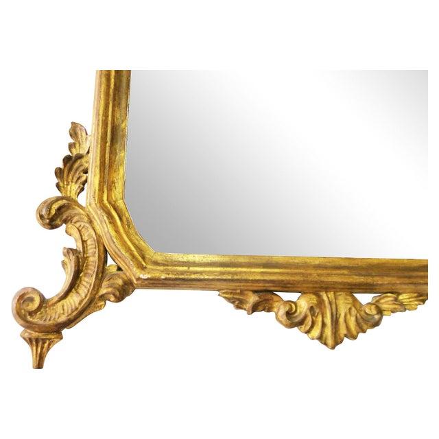 Italian Carved Gilt Wood Mirror - Image 6 of 7