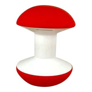 Humanscale Red & White Ballo Stool