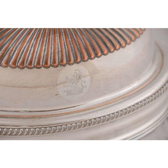 Copper Pair of English Silver Domes For Sale - Image 7 of 8