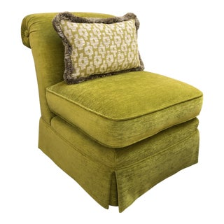 Manuel Canovas Slipper Chair For Sale