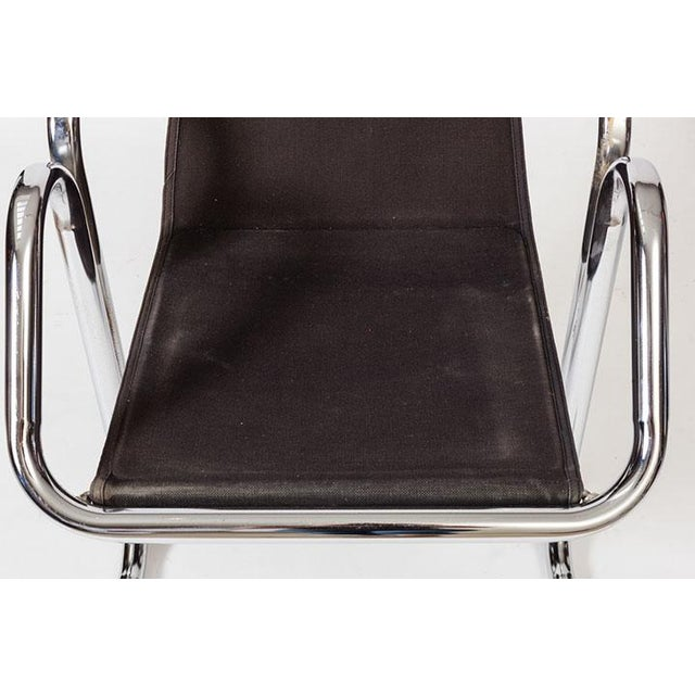 Jerry Johnson Tubular Chrome Dining Chairs - Set of 8 For Sale In Los Angeles - Image 6 of 7