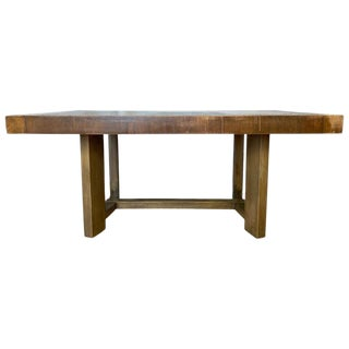 t.h. Robsjohn-Gibbings for Widdicomb Mahogany Extendable Dining Table, 1940s For Sale