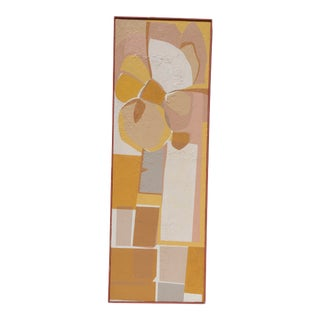 1960s Mid-Century Modern Abstract Painting For Sale