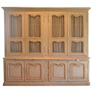 Provincial Painted Cabinet, France For Sale