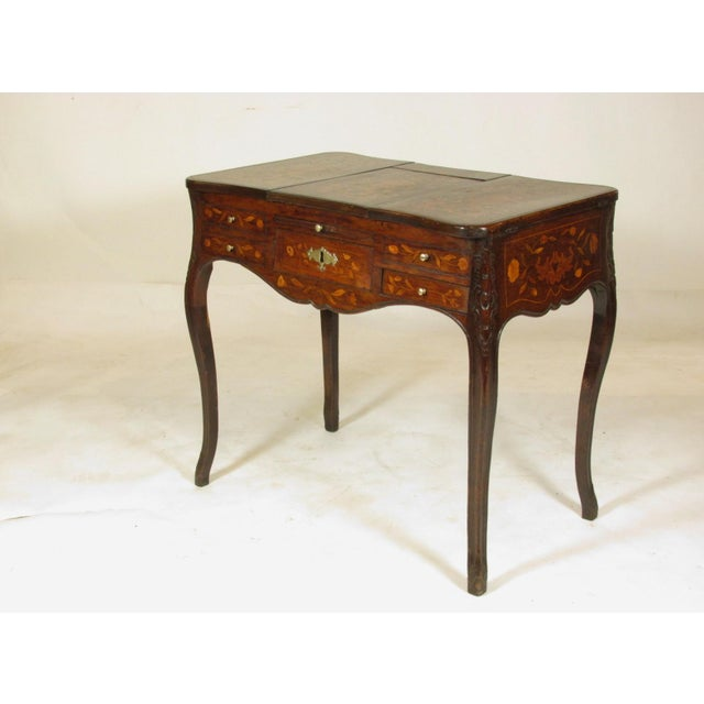 French 19th Century French Marquetry Podruse For Sale - Image 3 of 13