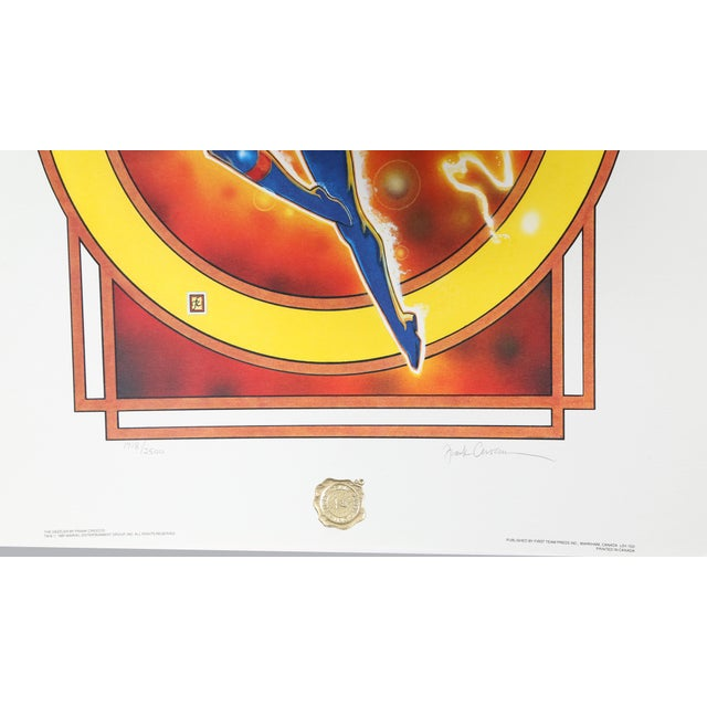 """Children's """"The Dazzler"""", 1987, Offset Lithograph by Frank Cirocco For Sale - Image 3 of 4"""
