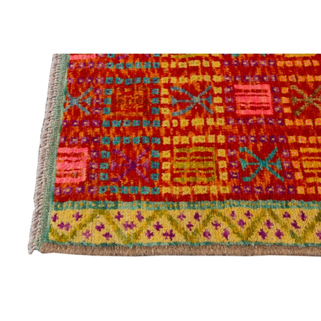 """Modern Gabbeh Rug, 2'0"""" X 5'0"""" For Sale In New York - Image 6 of 10"""
