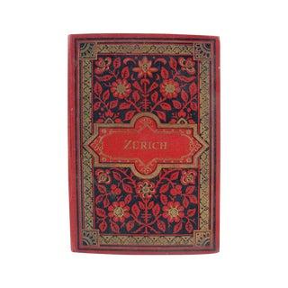 Zurich Switzerland Photo Book, 1896 For Sale