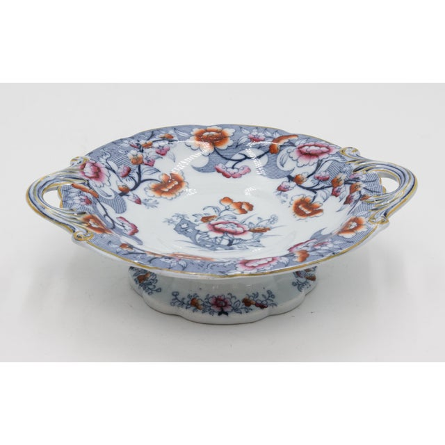19th Century English Imari Porcelain Compote For Sale - Image 9 of 9