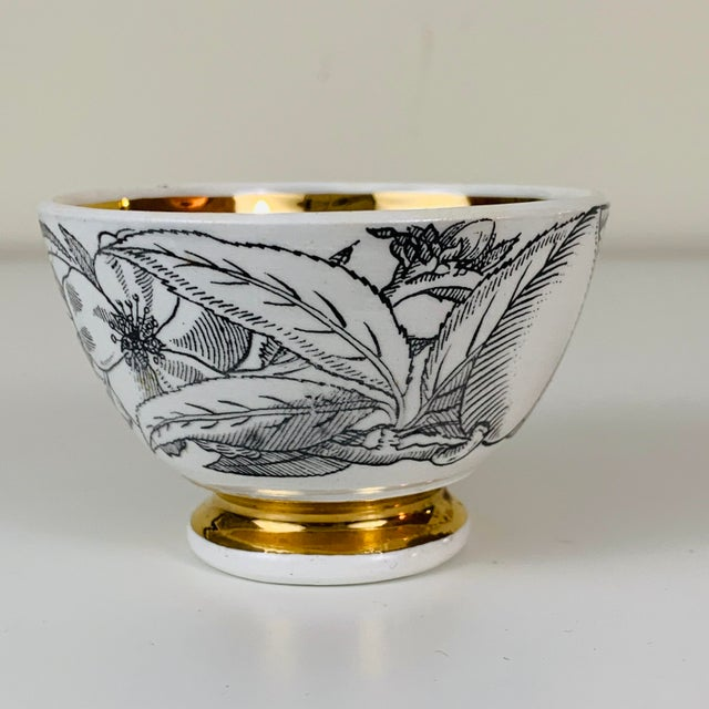 1960s Piero Fornasetti Snack Bowls - Set of 3 For Sale - Image 11 of 13