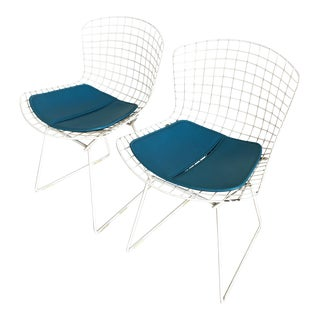 1980s Vintage Knoll Bertoia Side Chair- A Pair For Sale